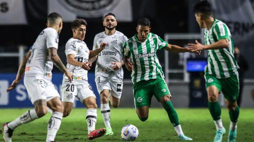 Santos plays poorly and draws with Juventus at Villa Belmeiro