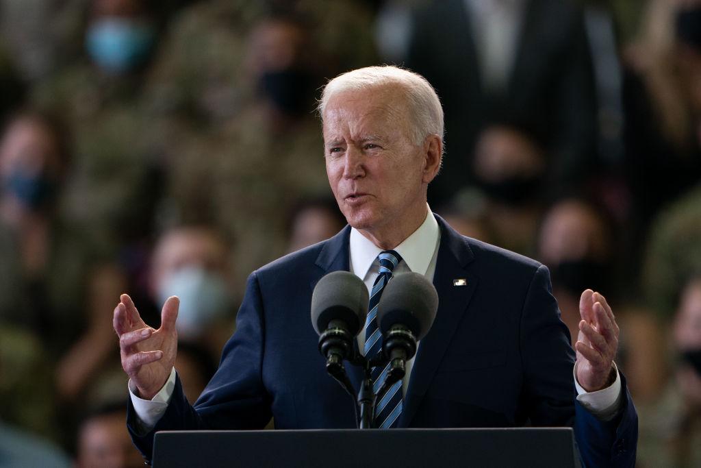 O presidente dos EUA, Joe Biden, antes da Cúpula do G7