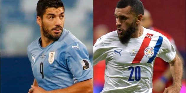 Uruguay beat Paraguay 1-0 in the last round of the group stage of the Copa America