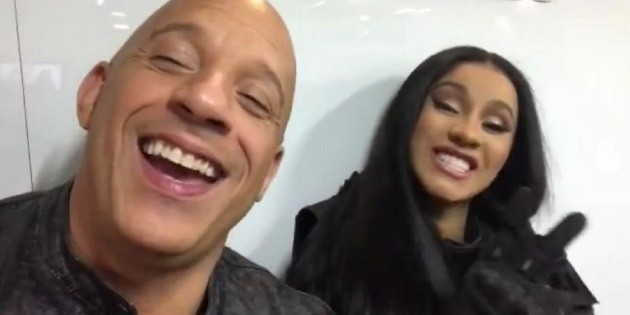 Vin Diesel confirms Cardi B in the cast of 'The Fast and the Furious 10'