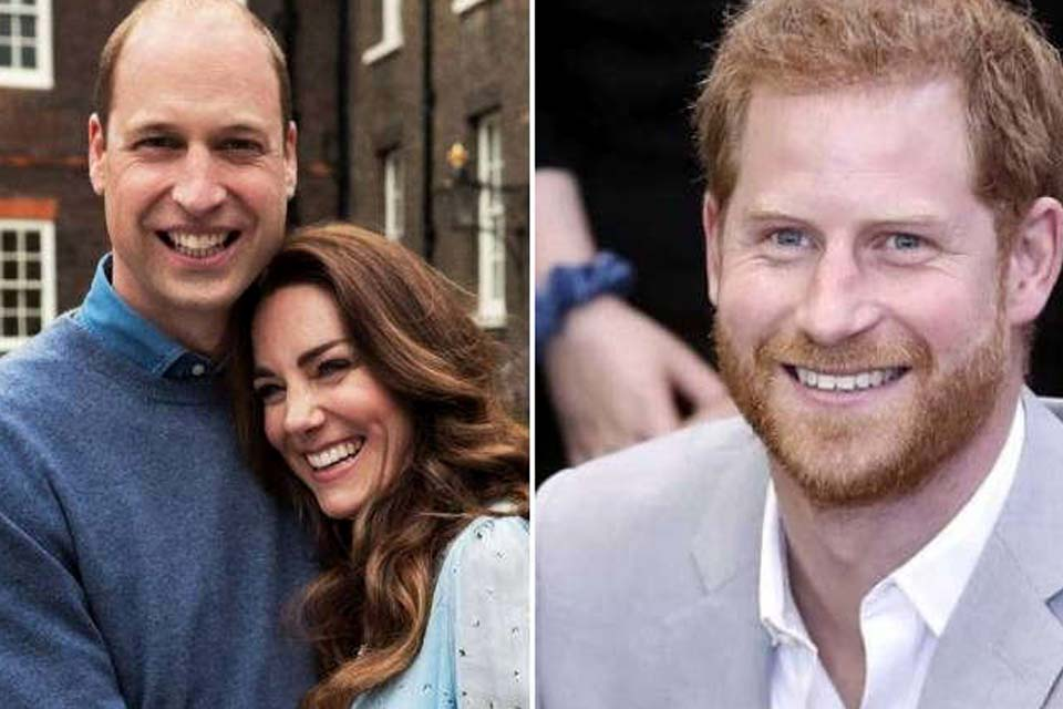 William and Kate Middleton refuse to meet Harry |  an exercise