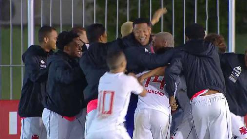 With a goal from Sarrafiore, Vasco beat Boavista and opened an advantage in the third stage of the Copa del Rey.