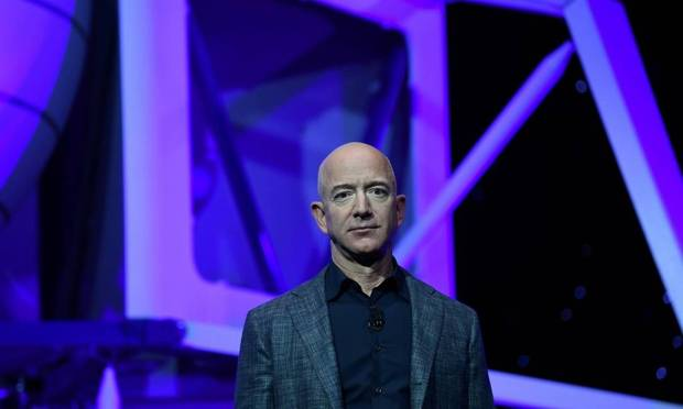 & #034;  Since I was five years old I have been dreaming of space travel & # 039;  & # 039;  In an Instagram post about this month's release, Bezos said, Image: CLODAGH KILCOYNE/REUTERS