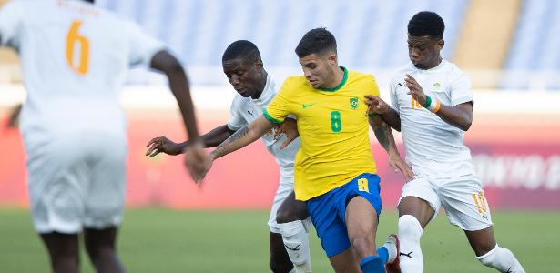 Brazil plays 70 minutes with one hand and only draws with Cote d'Ivoire - 25/07/2021