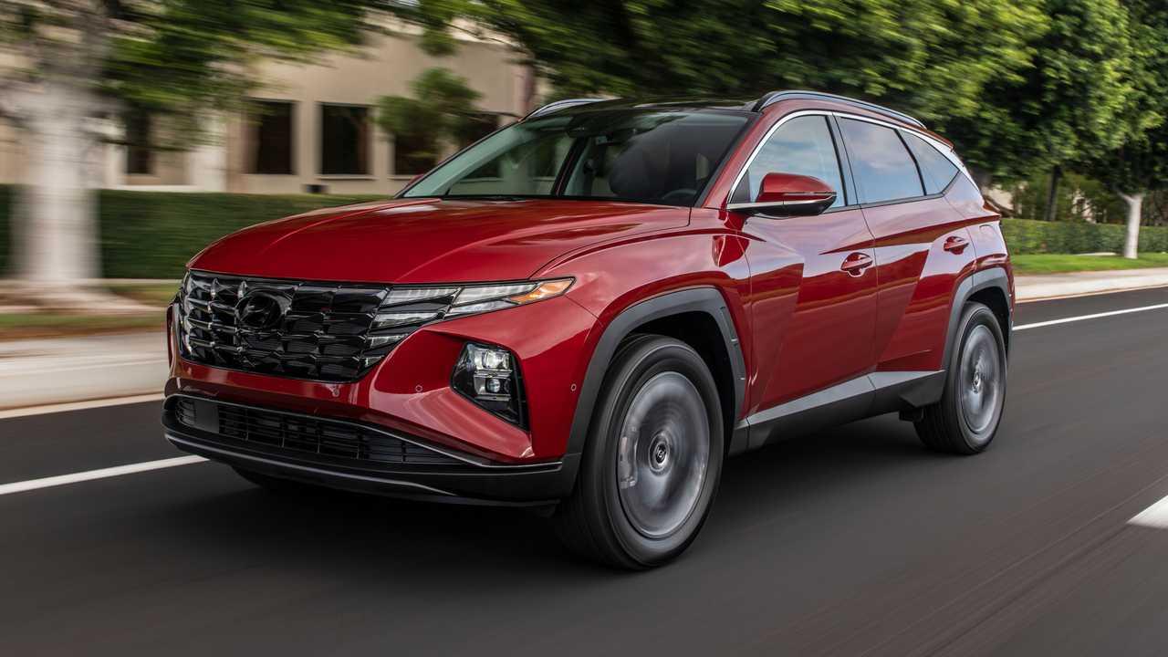 Hyundai Tucson 2022 - Exterior