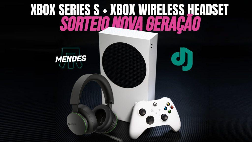 Introducing XBOX Series S + XBOX Wireless Headphone رأس