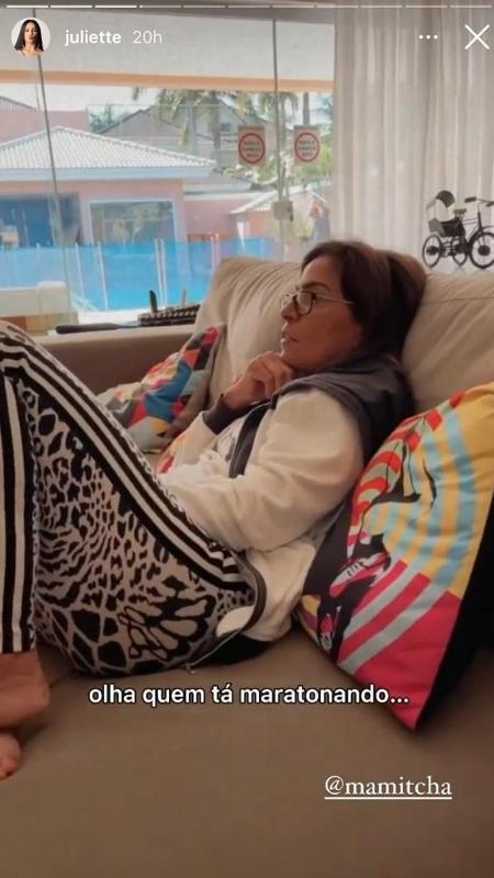 Juliette Merian Rocha, Anita's mother, offered,