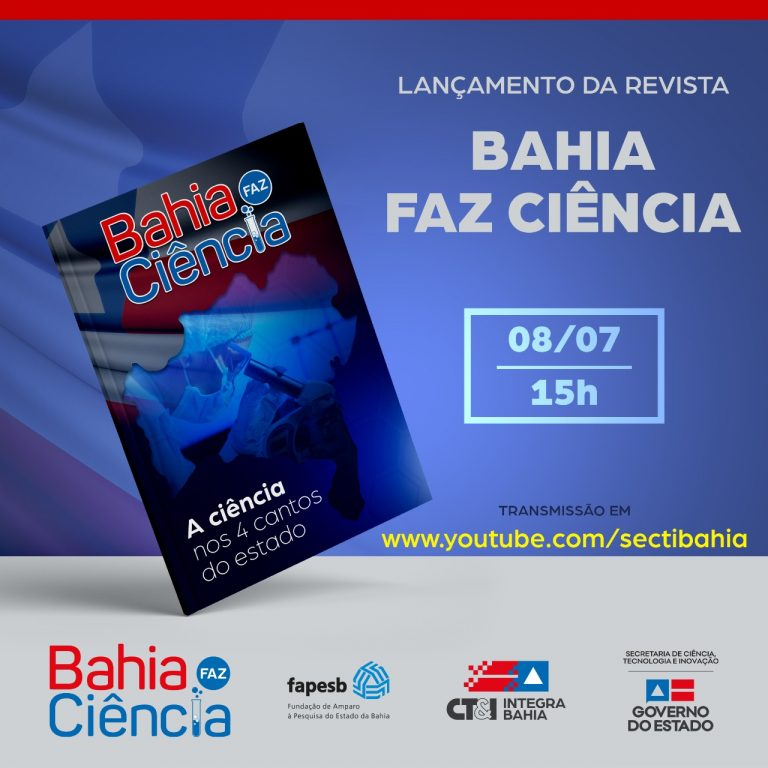 Bahia government launches a scientific journal for the press to celebrate Science Day