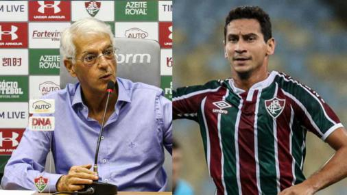 Celso Barros calls Ganso 'Sonso', accusing him of trying to overthrow the technicians and managers of Fluminense, and pins Mario