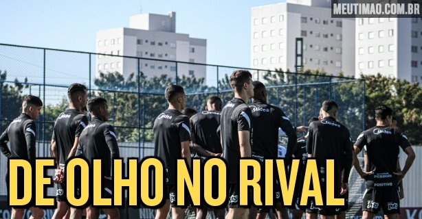Corinthians are scheduled to face the Atlético MG reserve team on Saturday in favor of the Brazilian