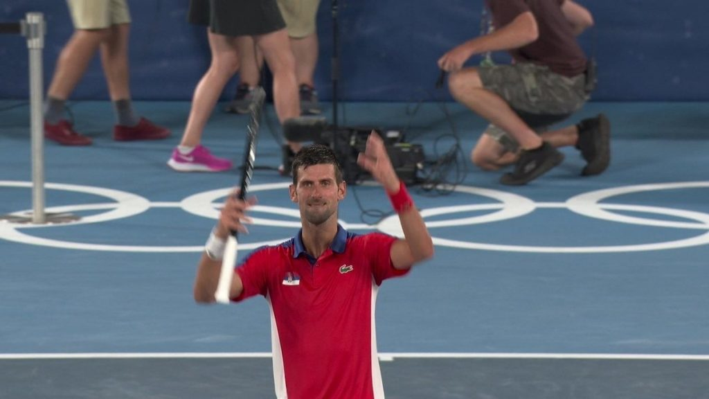 Djokovic defeats Nishikori, goes to the semi-finals and continues to fight for gold in Tokyo    the Olympics