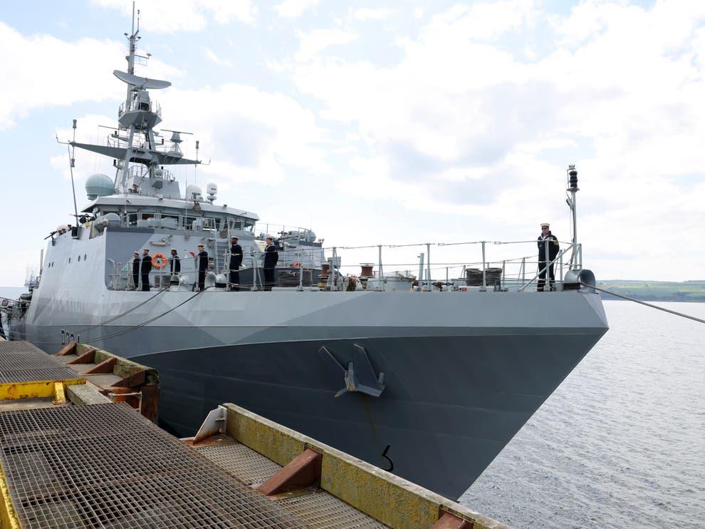 HMS Spey, navio britânico