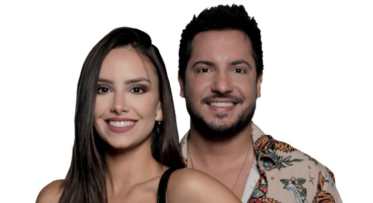 Georgia and Thiago from Power Couple are eliminated with 4.59% of the vote - RecordTV