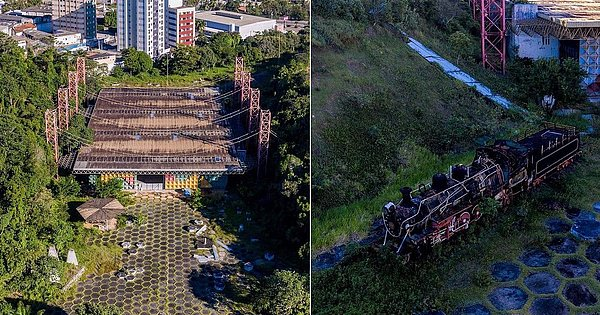 In ruins: The Museum of Science and Technology has been abandoned since 2018