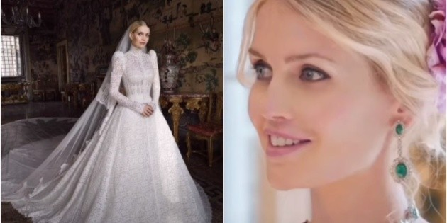 Lady Kitty Spencer, Princess Diana's niece, married a South African millionaire