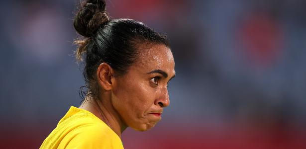 Marta leaves the future of the Brazilian national team open after the elimination