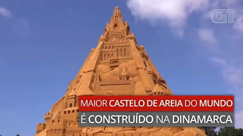 The largest sand castle in the world under the title of Covid |  Scientist