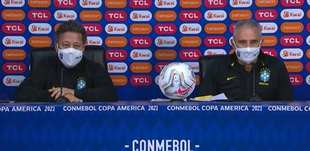 Tite hides Jesus' substitute and reduces the defeat in Peru in the first stage - 07/04/2021