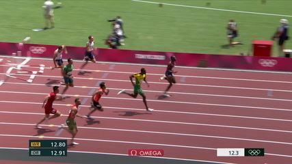 Rafael Pereira finished sixth in the 110m hurdles semi-finals - Tokyo Olympics