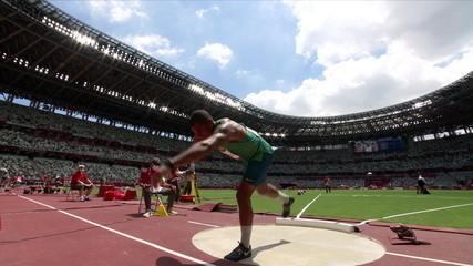 Felipe dos Santos takes 14.13 in the third round - Tokyo Olympics