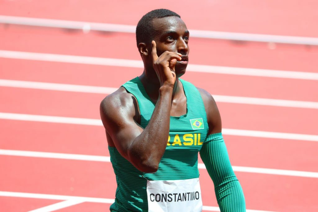 Gabriel Constantino and Rafael Pereira miss the 110m hurdles final    the Olympics