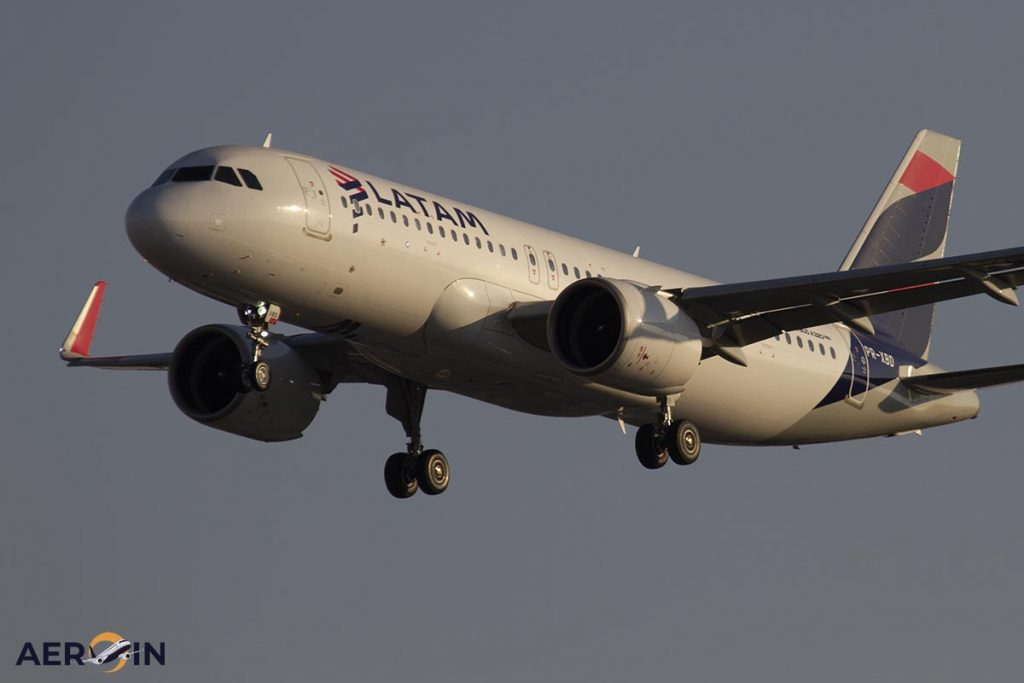 LATAM Group acquires 28 new Airbus A320neo aircraft from the factory