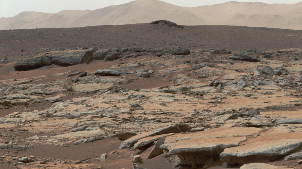 Curiosity rover data may point to a different past for the Gale Crater