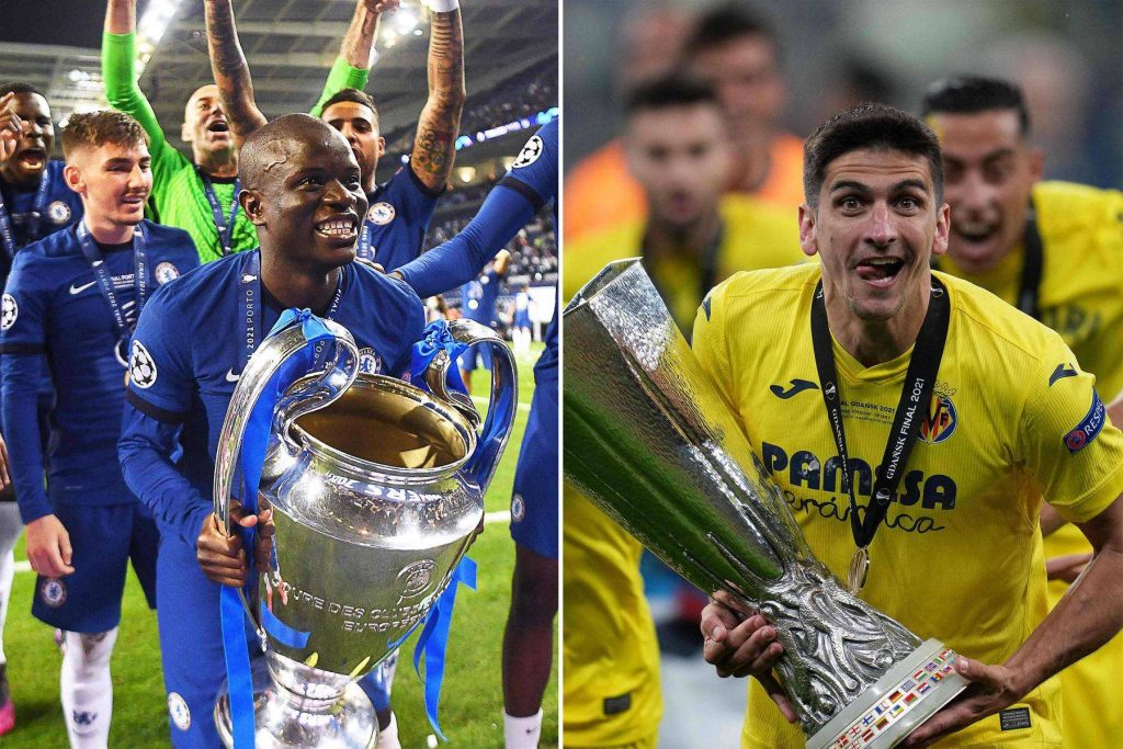 SBT broadcast a match between Chelsea and Villarreal for the UEFA Super Cup