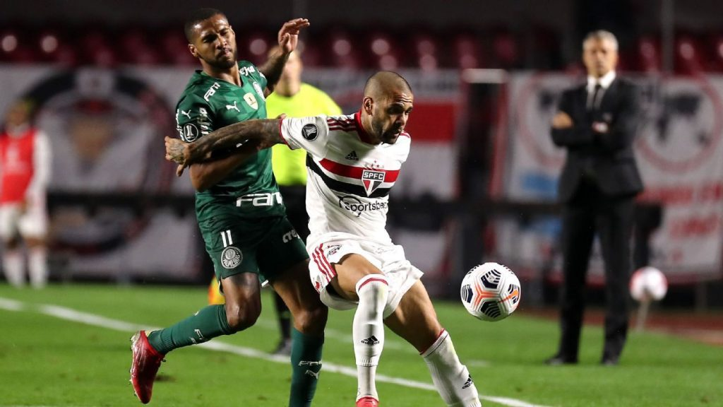Sao Paulo and Palmeiras make a truncated derby and draw in the first match in the quarter-finals