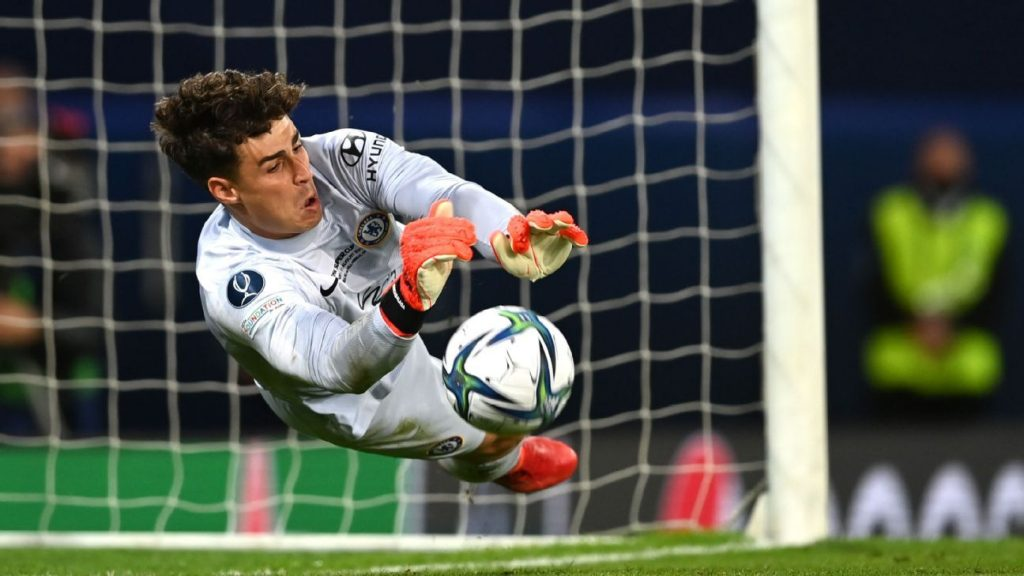 Chelsea won the European Super Cup against Villarreal with Kepa's decision after entering the penalty shootout