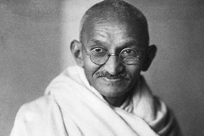 Mahatma Gandhi, an Indian pacifist (Photo: Disclosure)