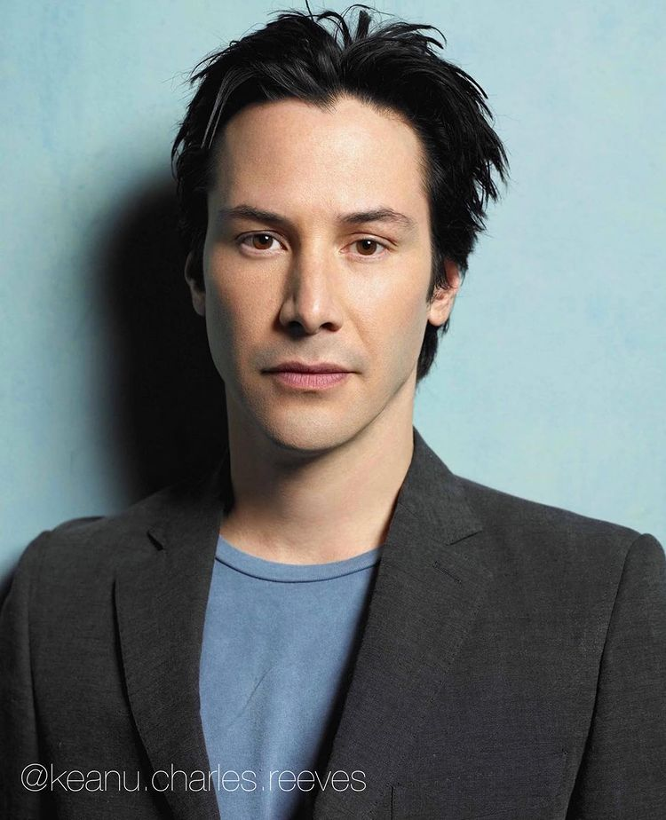 Keanu Reeves, a Lebanese-born actor (Photo: Instagram)