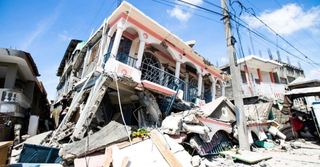 Pictures of the devastation caused by the earthquake in Haiti