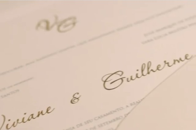 Viviane Araújo and Guilherme Militão's wedding invitation details (Image: clone)