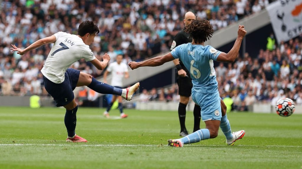 Amid the controversy surrounding Kane, Tottenham seal the City mantle and beat the defending champions with a superb goal from Son.
