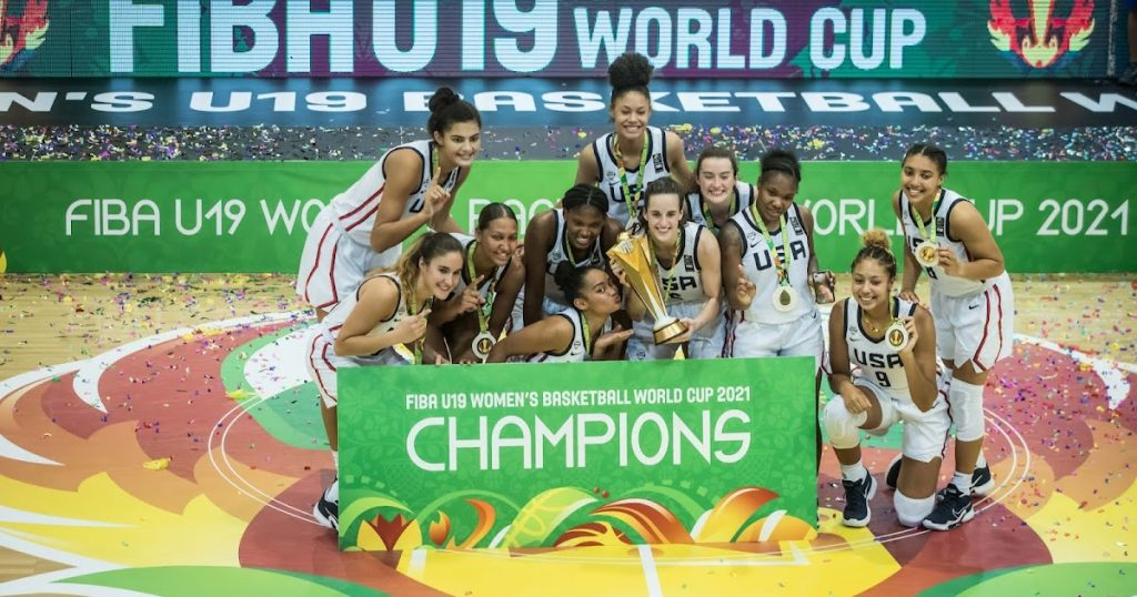 The United States won its ninth title at the U19 Women's Basketball World Cup;  Brazil is in last place