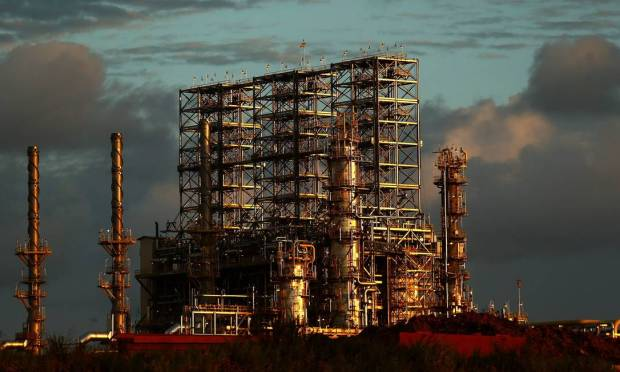 The Abreu e Lima refinery (RNEST) began operations in 2014.  It is located in the industrial port complex of Subei, 45 km from Recife in Bernambuco.  Photo: Wilton Jr. / Agoncia O Globo