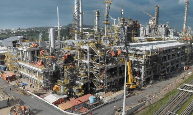 The Alberto Pasqualini Refinery (Reef) is located on a 580-hectare area in the municipality of Canovas (RS) in Rio Grande do Sul.  Photo: Exposure