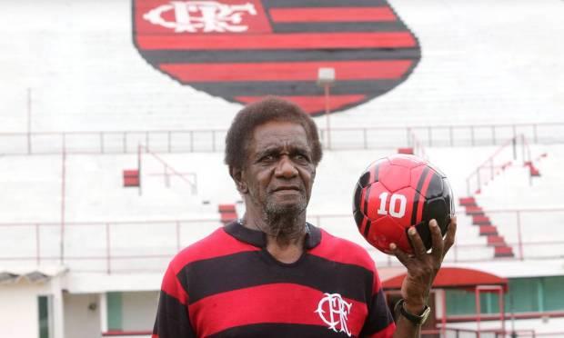 Silva Battuta.  O ex-Flamingo morreu aos 80 anos. Foto: Guilherme Pinto / Agência O Globo