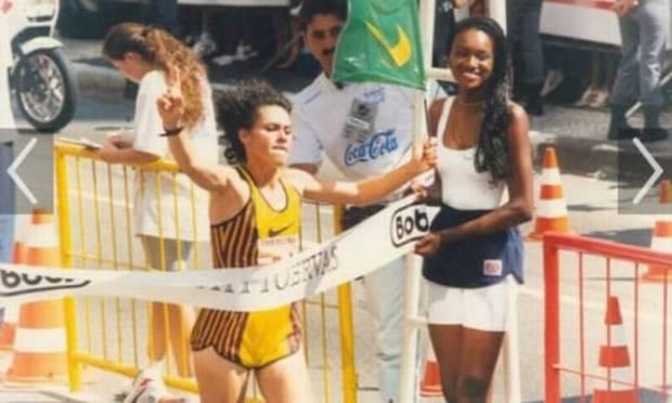 O campeão São Silvestre Roselli Machado faleceu aos 52 anos, em abril de 2021 Imagem: Publicidade