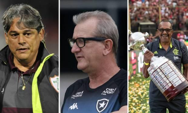 Marcelo Vega, Rene Weber and Jorginho were among the victims of Covid-19 Image: Photo montage