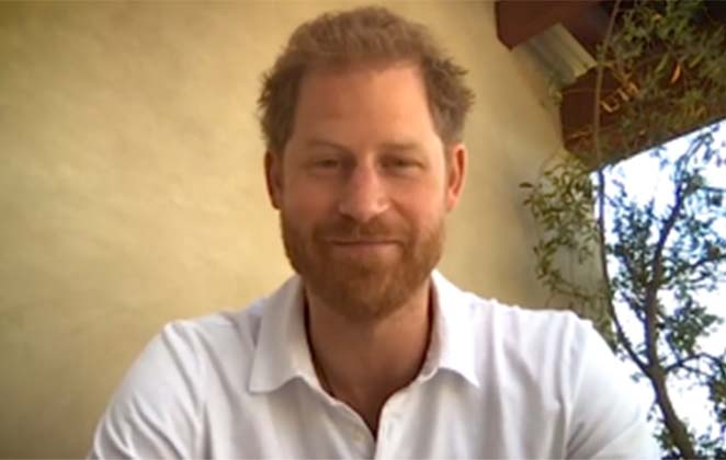 Prince Harry returns to the UK to record Netflix series
