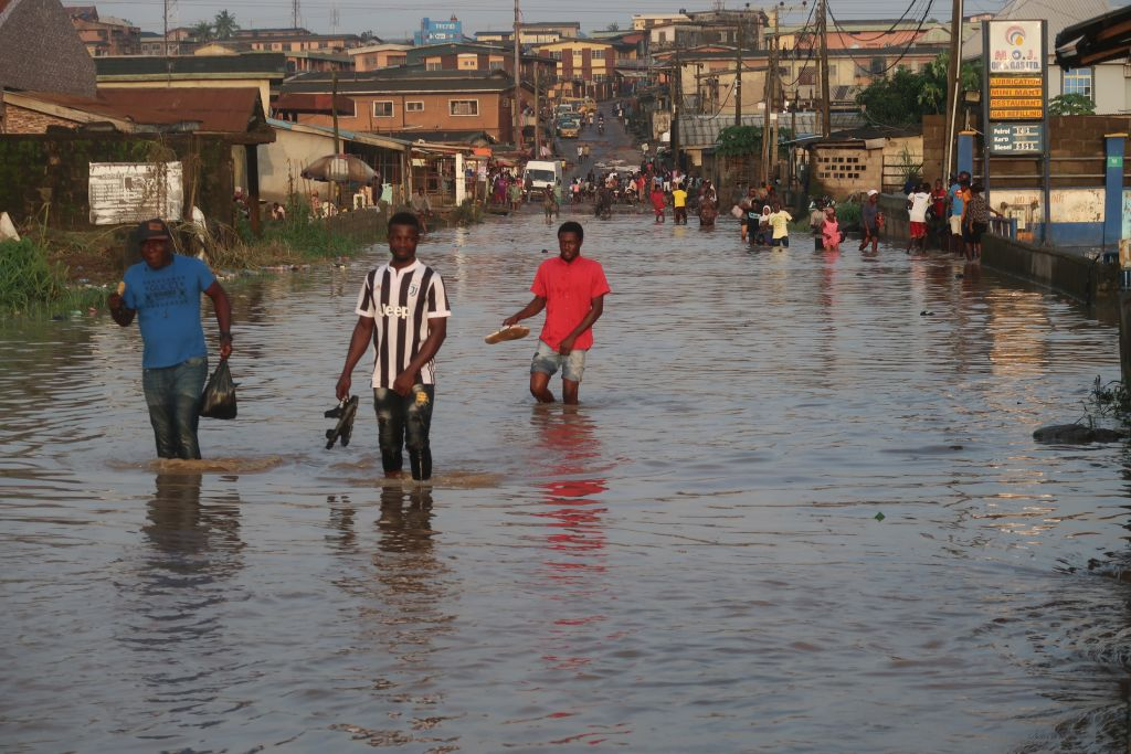 Africa's most populous city fights floods and stays on the map