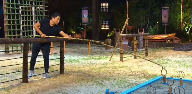 Byung beats Lucas in the challenge and fans show arrogance