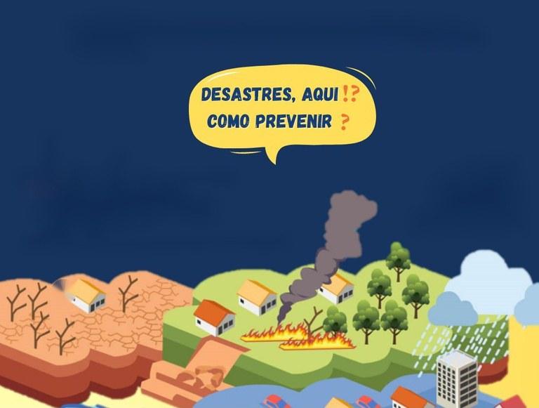 Campanha incentiva participação social para ajudar a reduzir impacto de desastres naturais