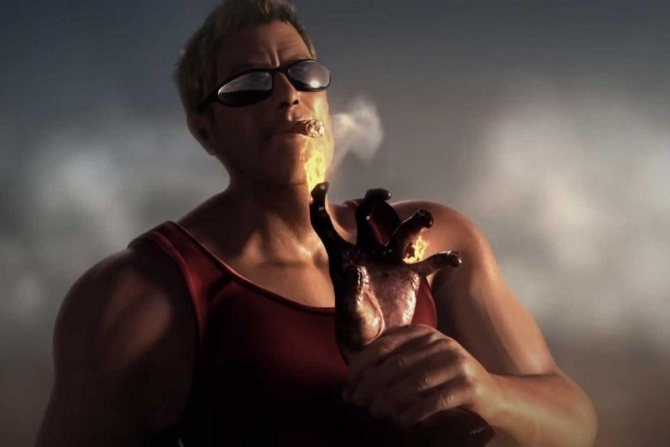 Imagem de: Duke Nukem Begins: trailer do game cancelado aparece no YouTube