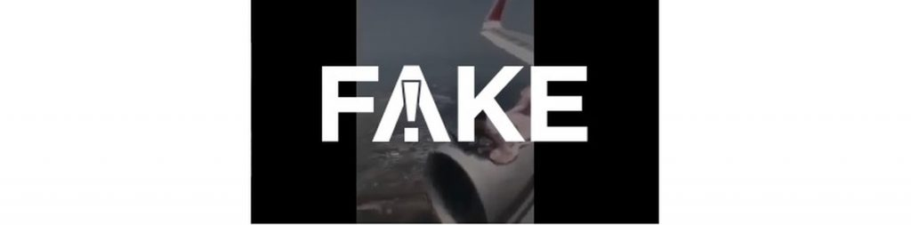 #FAKE video shows a man lying on a plane turbine mid-flight fleeing Afghanistan after the Taliban took power |  Real or fake