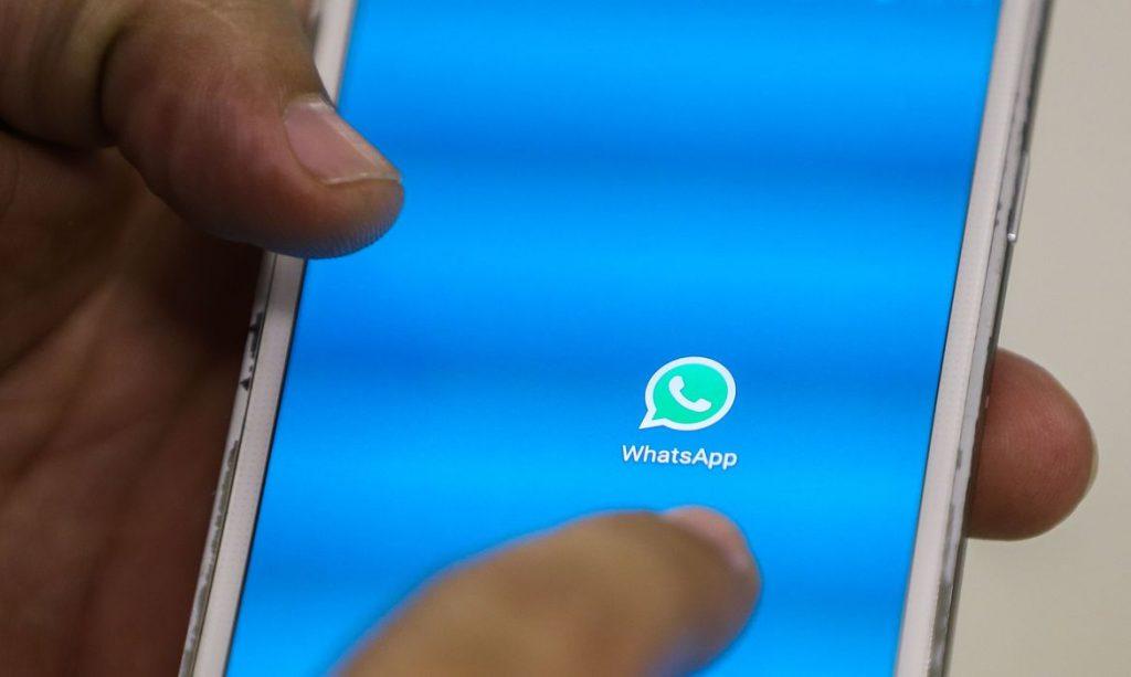 How do I get a message regarding emergency assistance on WhatsApp?