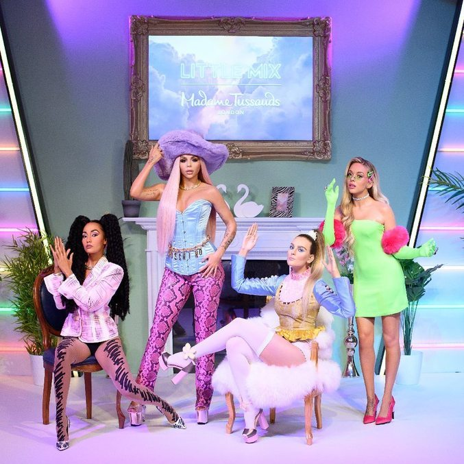 Little Mix Wins Wax Sculptures at Madame Tussauds London - Entertainment