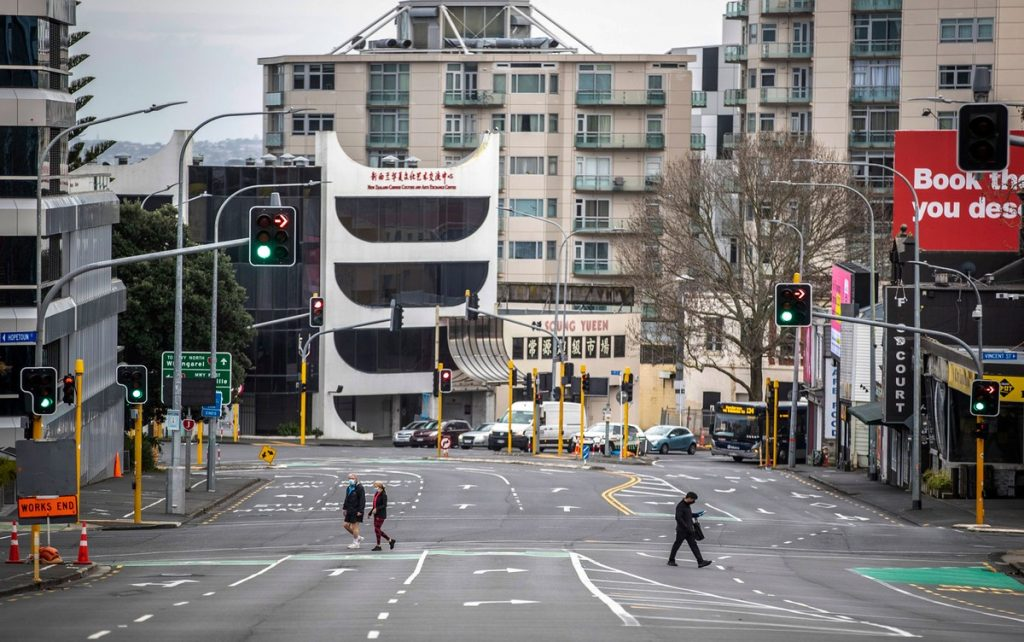 Lockdown protest draws one protester in New Zealand |  Globalism